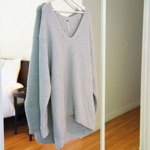 Free People Oversized Cashmere Sweater